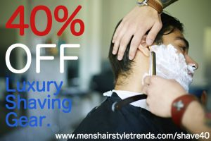 Shave 40% OFF All Luxury Shaving Products