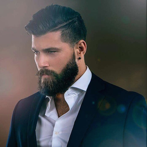Magnificent 22 Cool Beards And Hairstyles For Men Short Hairstyles Gunalazisus