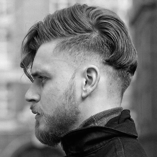 cullencharlie17 medium length undercut loosely combed over