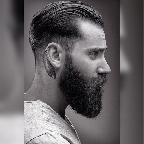 mens hair back styles 22 cool beards and hairstyles for 3148