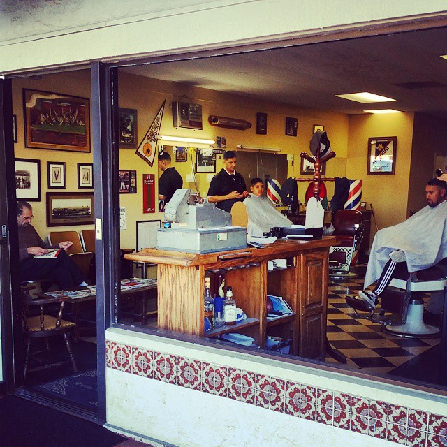 Ducky?s Barber Shop is a local fave despite the minimal Internet ...