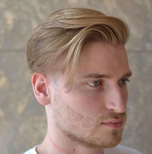 gregorymaxbarber natural hair with faded sides