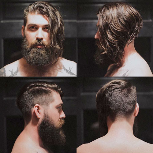 lane_toran,undercut,beard,long,hair,