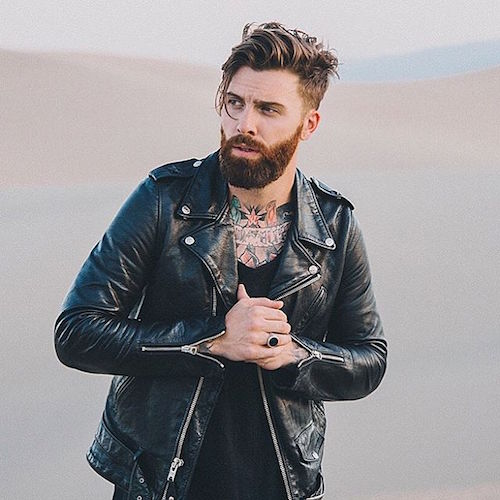 Amazing 22 Cool Beards And Hairstyles For Men Short Hairstyles For Black Women Fulllsitofus