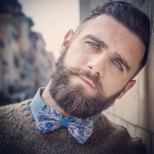 Amazing Short Hair + Groomed Beard