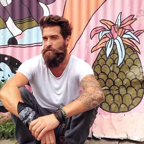 mee.kay_medium natural hair big beard