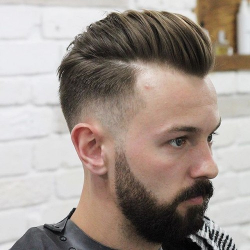 30+ Pompadour Haircuts + Hairstyles