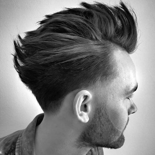 ryancullenhair_ tapered hair to maximize movement