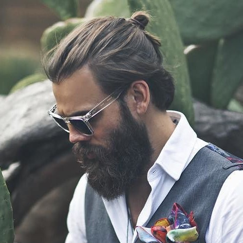 The Samurai Man Bun
