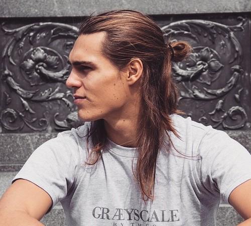 triggtrav-half-up-man-bun-long-hair
