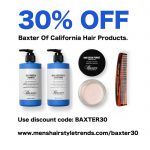 SAVE 30% On All Baxter Of California Hair Products