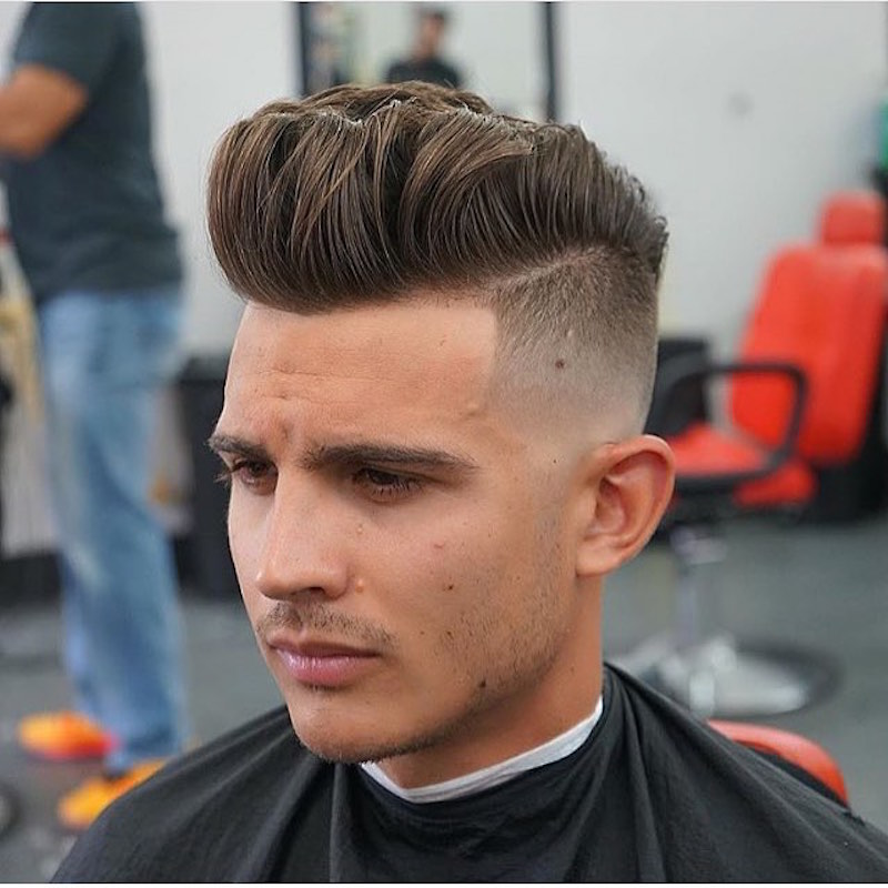 Blendz Barber High Fade Long On Top Haircut By