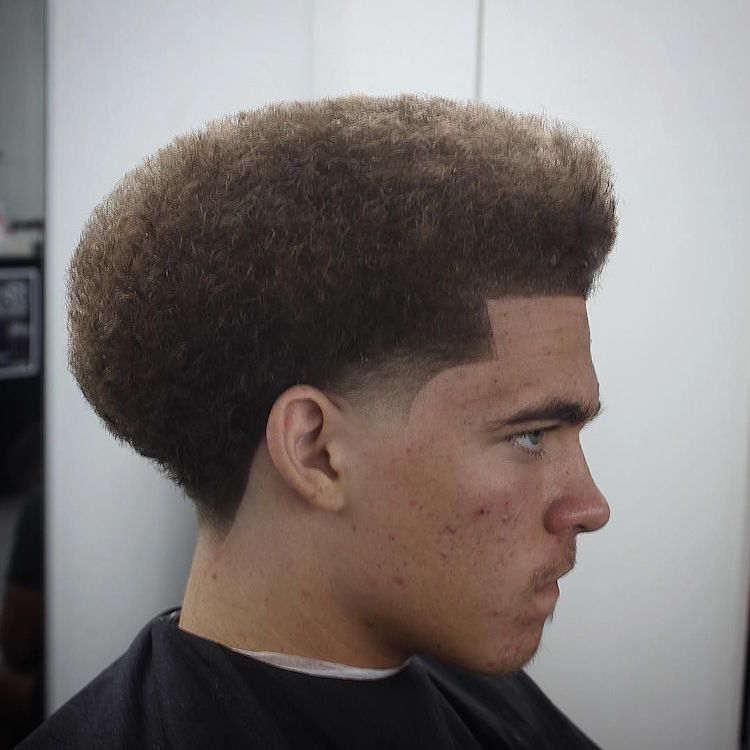 Another Killer Shape + Temple Fade. _bonezdagoat_and Cool Shaped Hair