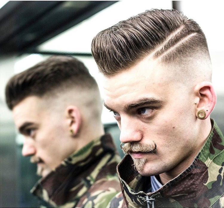 braidbarbers_and_Skin_fade_pomp_with_double_razor_side_part