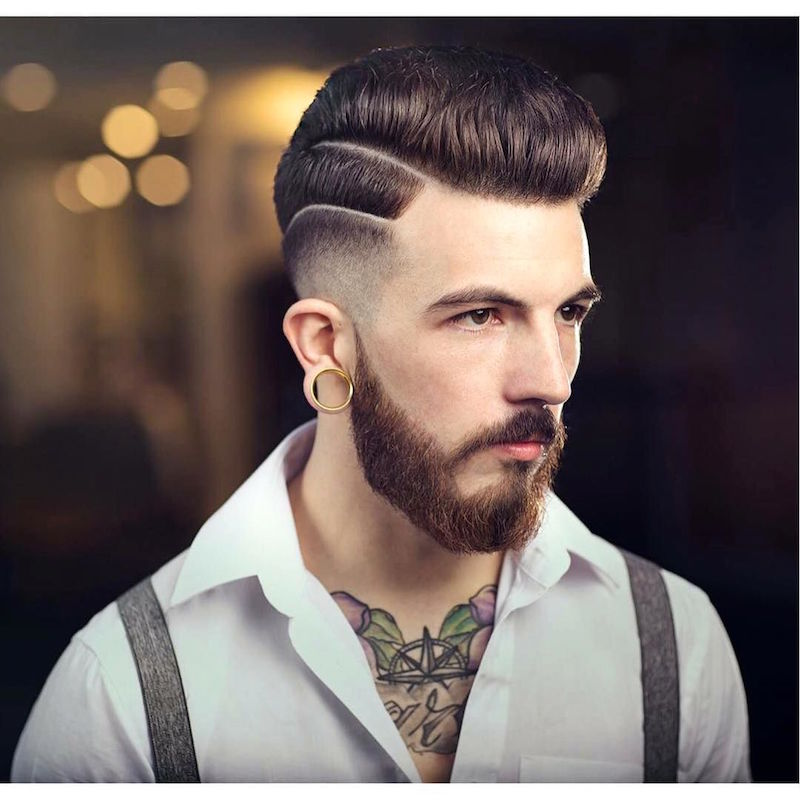 braidbarbers_high lo fade medium pompadour