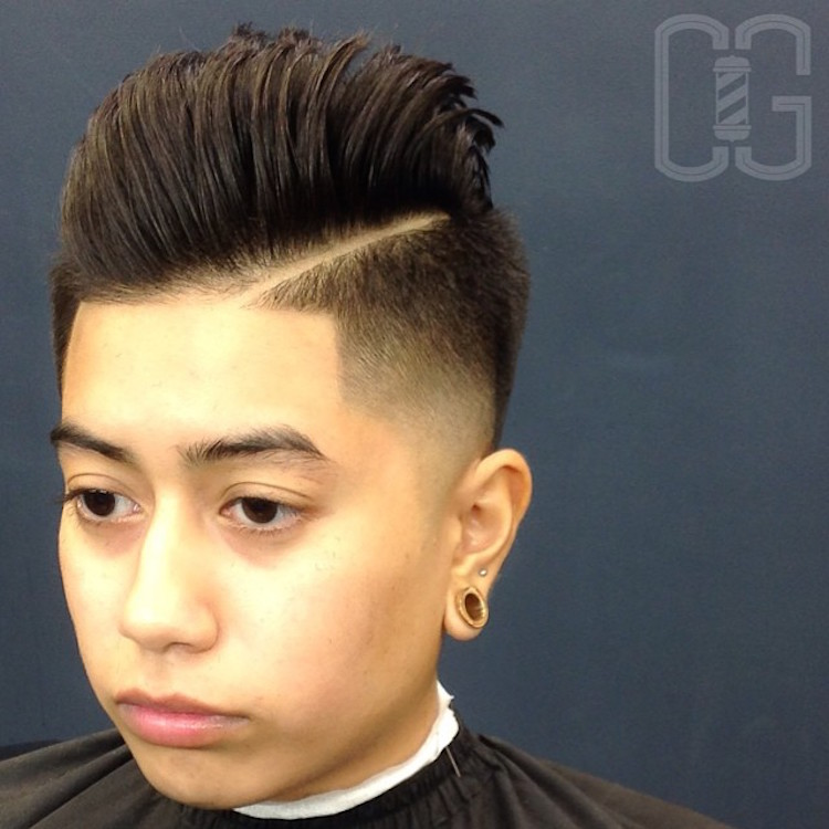 chadius_maximus_ hard part medium hair bald fade