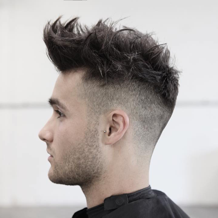 Morrismotley High Fade And Textureized Hair On Top