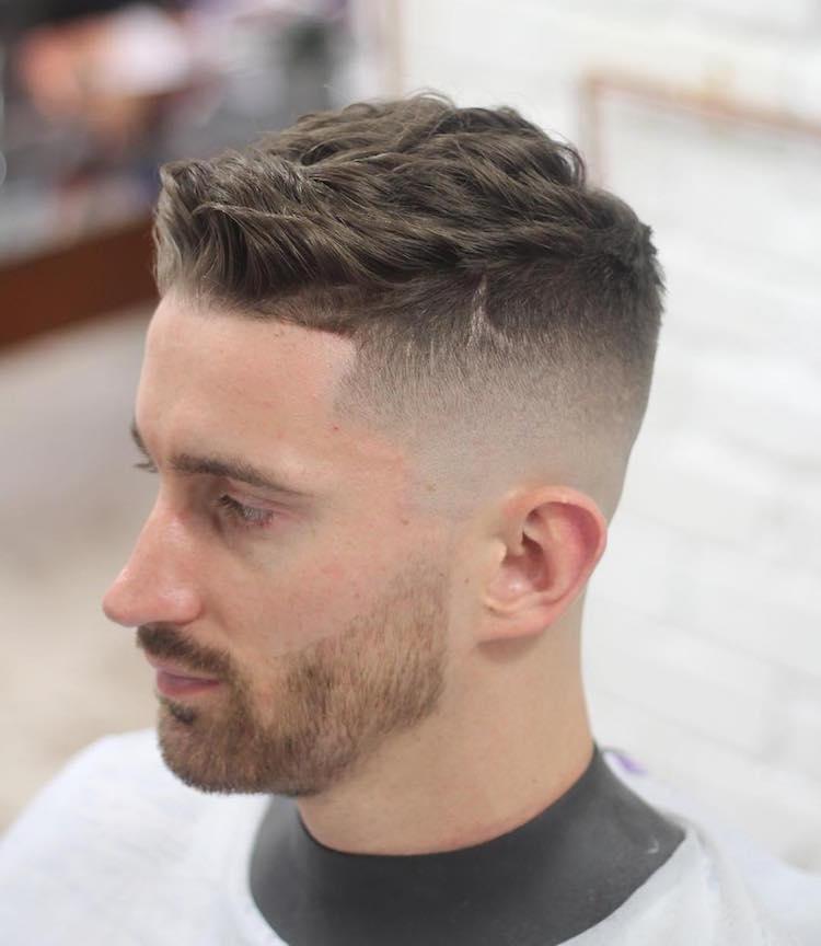 mozambeak_and short haircut bald fade Tunsori 2016 pentru barbati. Coafura Pompadour continua Tunsori 2016 pentru barbati. Coafura Pompadour continua mozambeak and short haircut bald fade