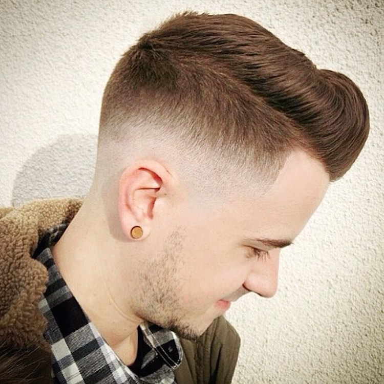 nicholas_the_greek Medium skin fade pomp combo