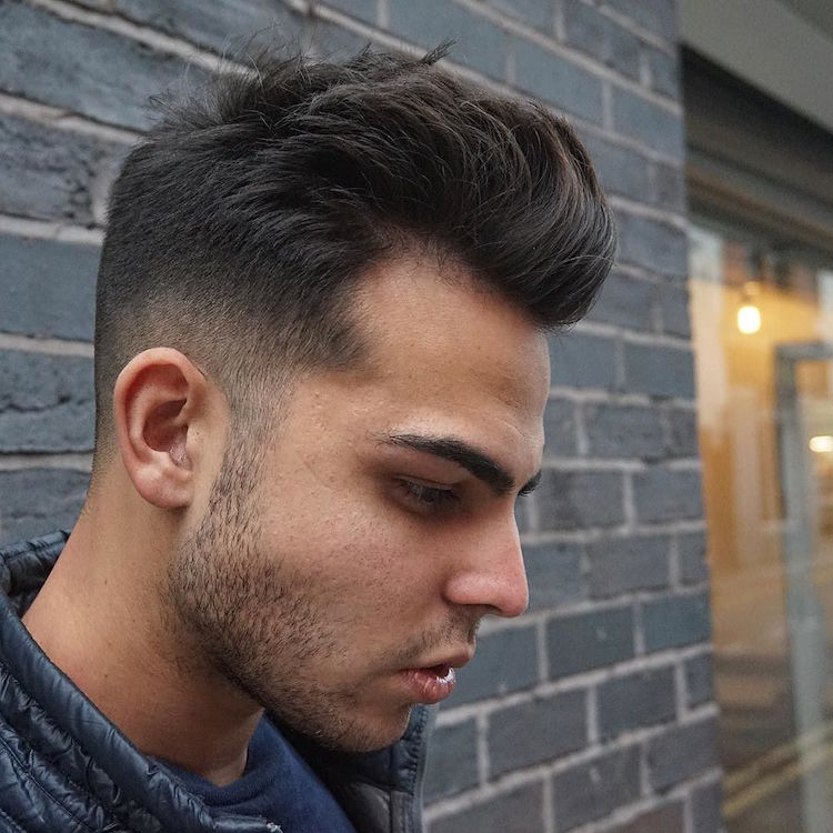 rpb_nq_and medium hair fade blow dry