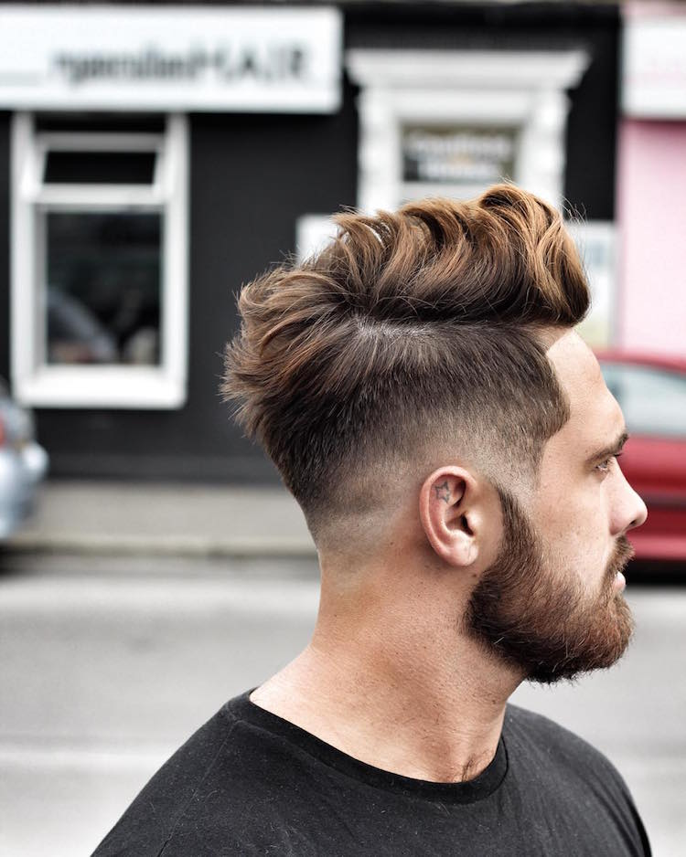 ryancullenhair_and_Drop Fade long hair men Tunsori 2016 pentru barbati. Coafura Pompadour continua Tunsori 2016 pentru barbati. Coafura Pompadour continua ryancullenhair and Drop Fade long hair men