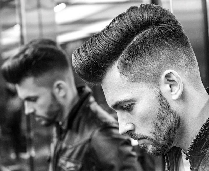 braidbarbers_and classic pompadour