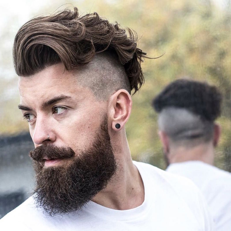 Trimmed Hairstyles For Men hair color trend