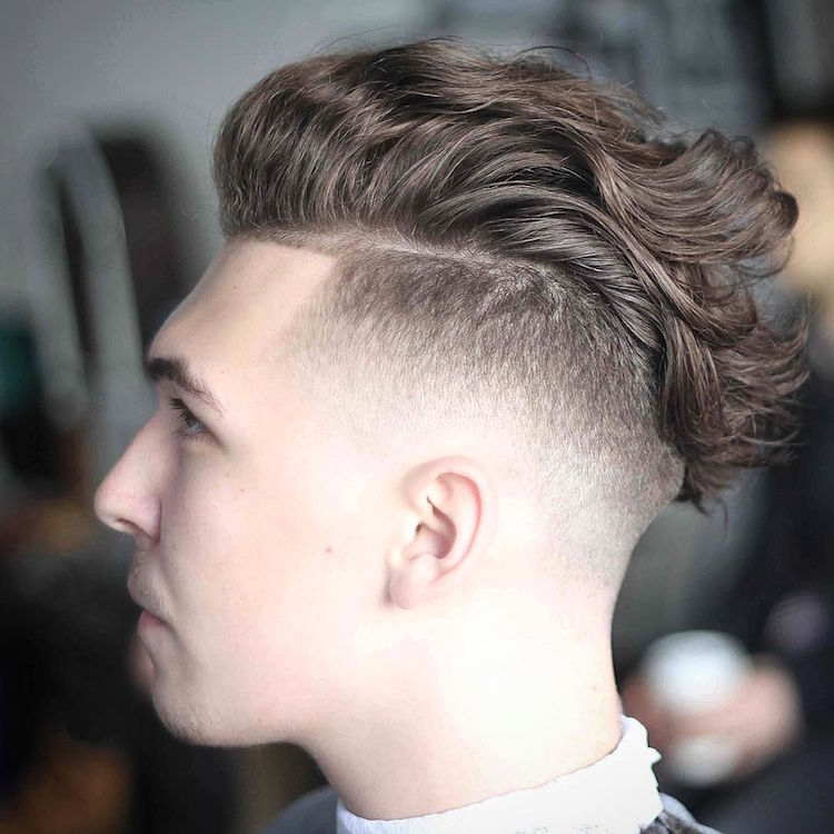 hudsonshair_and long wavy hair skin fade
