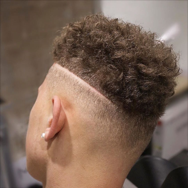 menspiresalon_andcurly hair high fade hard part