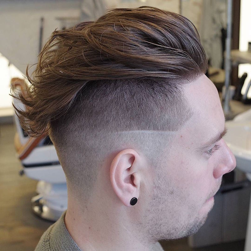 mensworldherenkappers_and hi lo fade undercut. Haircut by Mens World Herenkappers