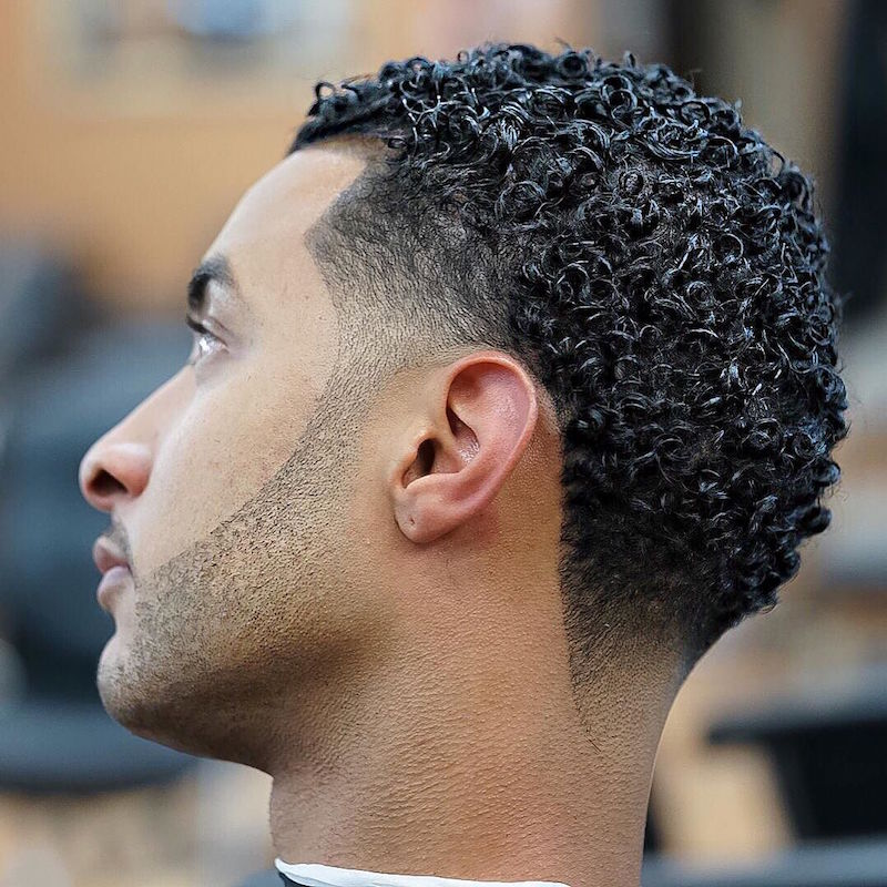 Curls + Taper Faded. Nickthebarber_and_Curls_X_FADED_Taper_X_FADED_Beard