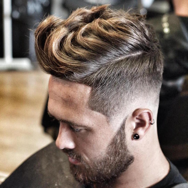 ryancullenhair long quiff high fade