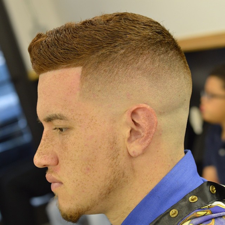 zeke_the_barber_ bald fade and classic short haircut