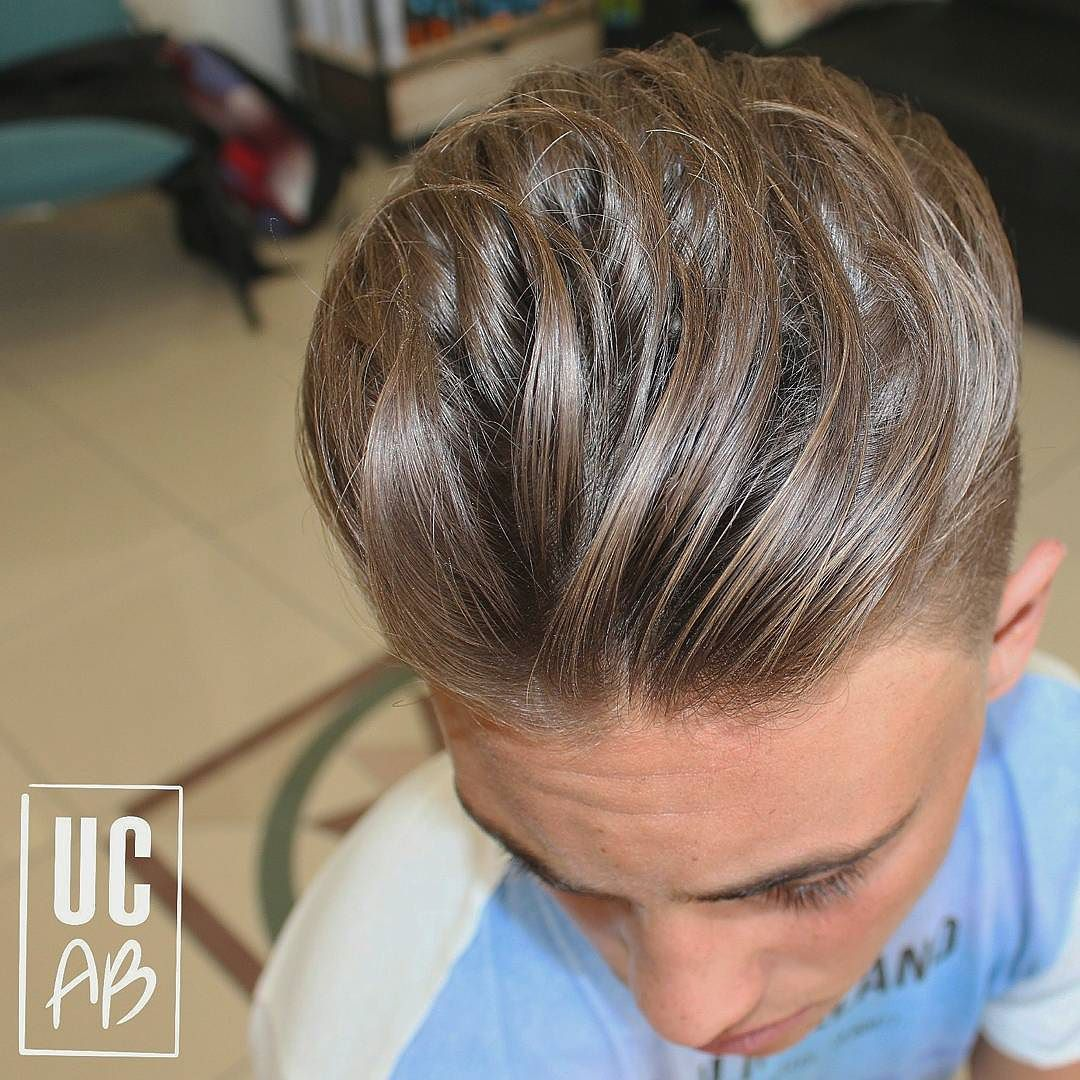 agusbarber__and cool longer hair hairstyle for men
