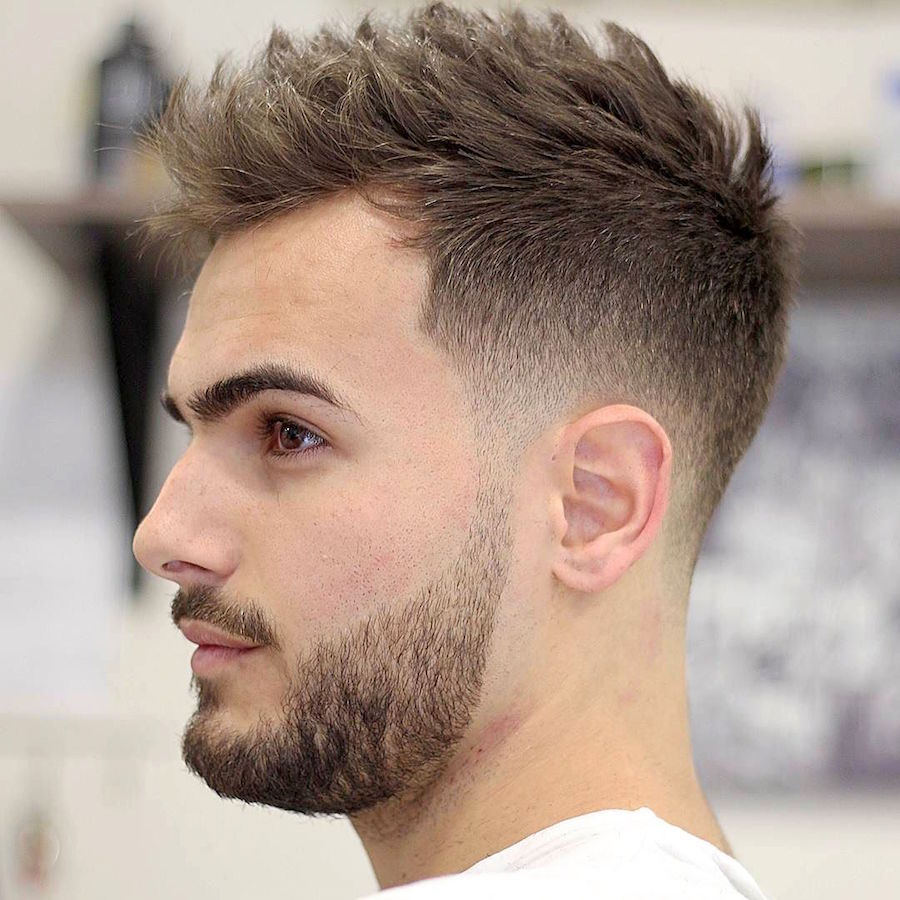 Hairstyles For Guys : agusbarber__and short haircut for men with textures