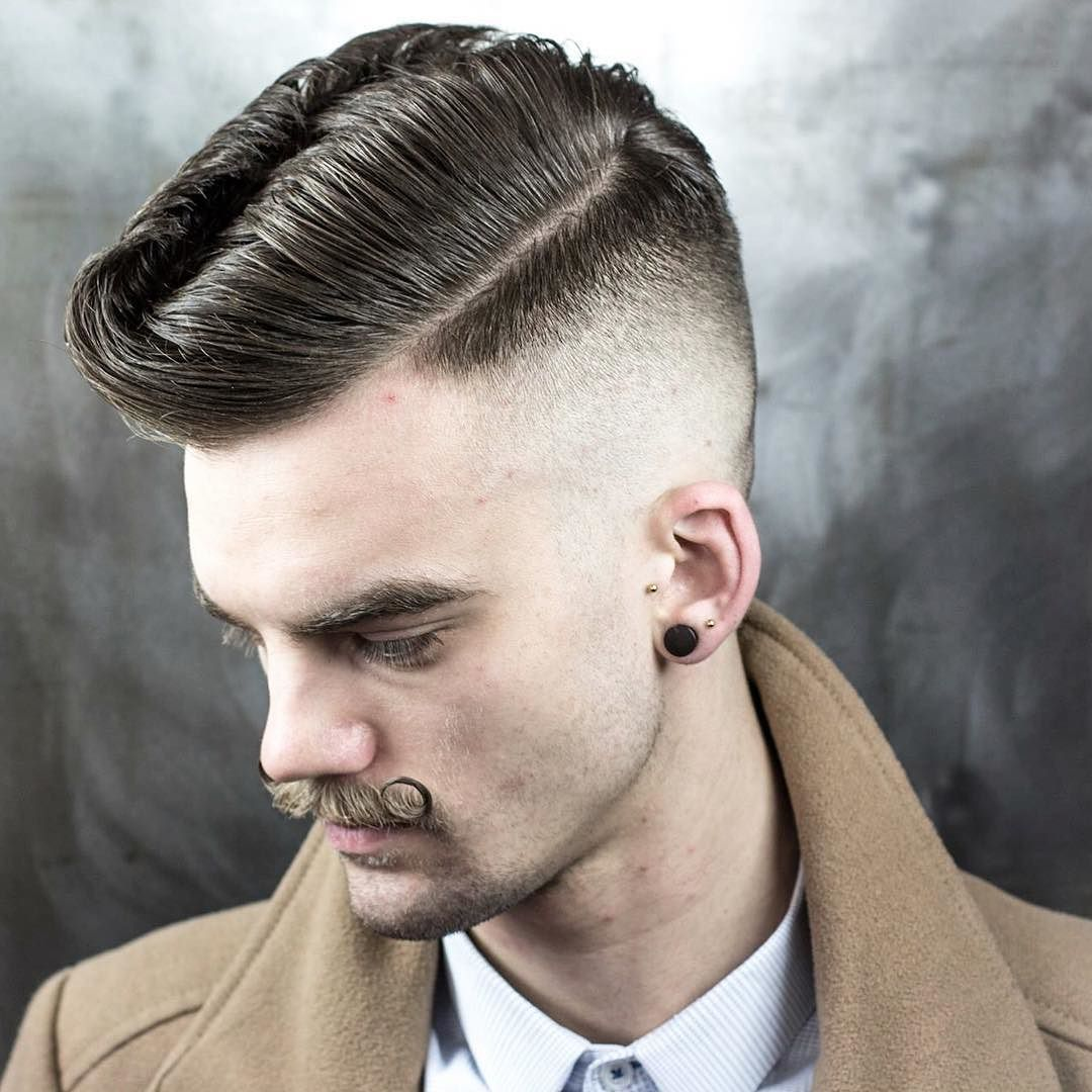Rockabilly Wave + Skin Fade
