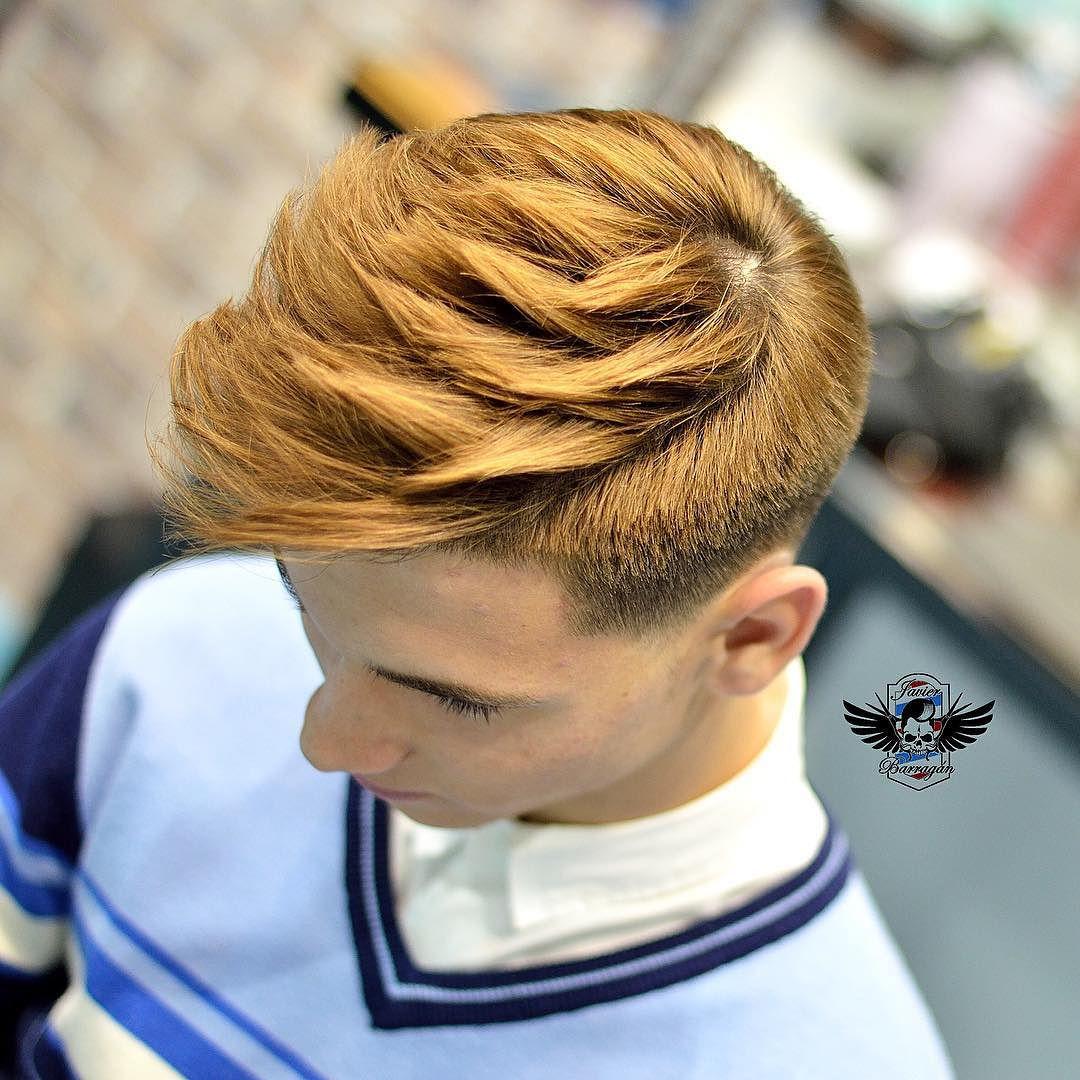 javier.barragan_and textured hair haircut for men