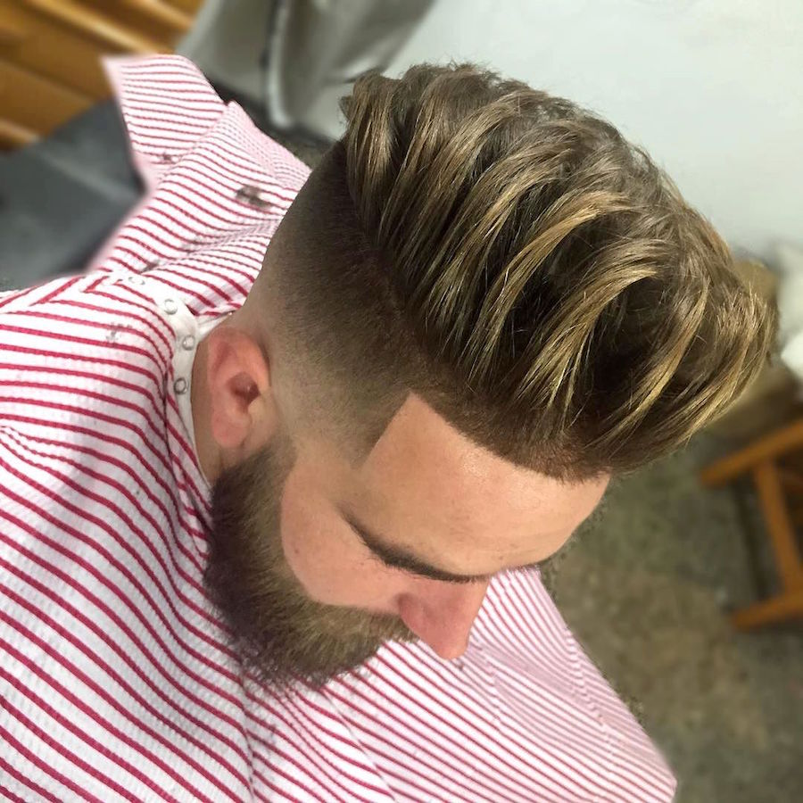 jose_pvlgbarbershop_and long textures and super clean high fade