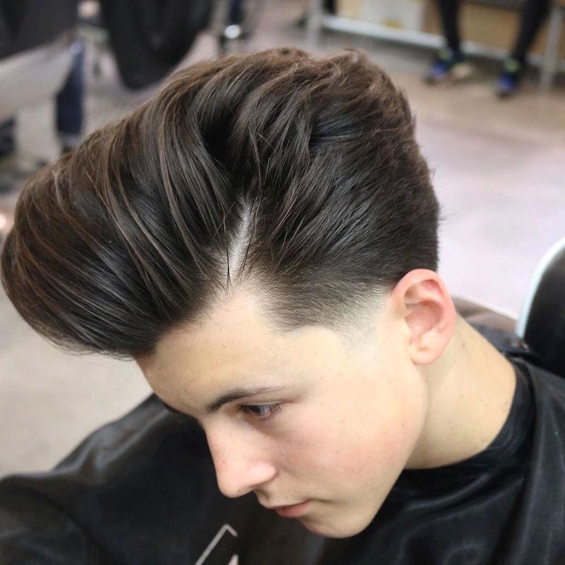 joshlamonaca_and scissor cut longer hair