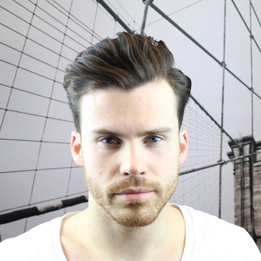 klipperinstinct_and killer wedge silhouette natural cut haircut