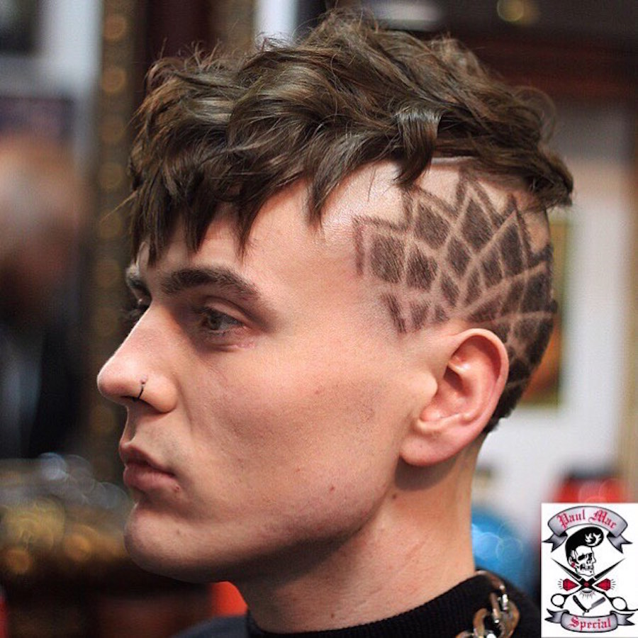 paulmacspecial_and cool hair design undercut with thick textures