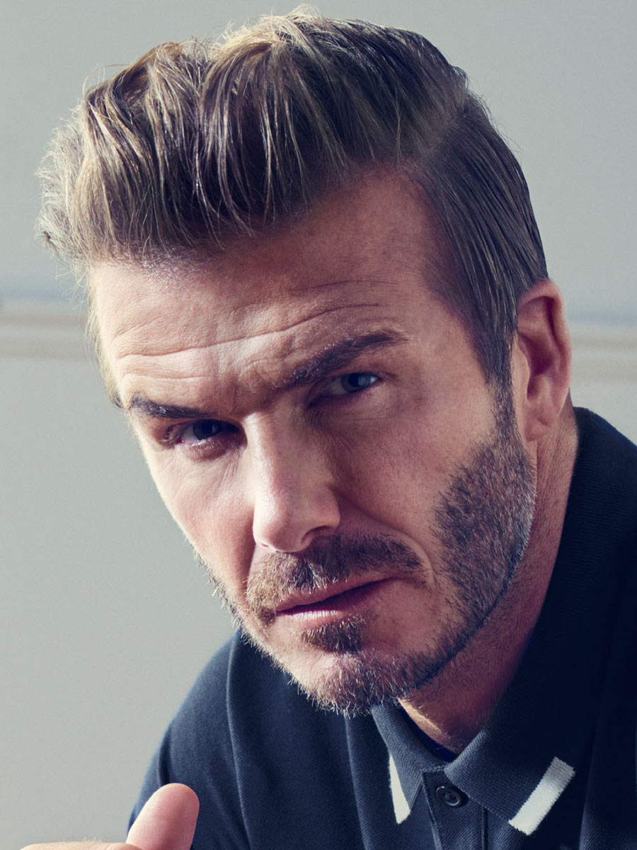 Undercut Hairstyle Men David Beckham