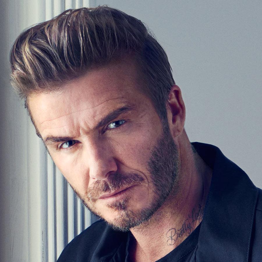 Image result for David Beckham grey hair