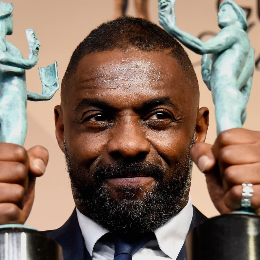 1. Idris Elba - 27 Celebrity Hairstyles For Men 2016 - Men's Hairstyle Trends