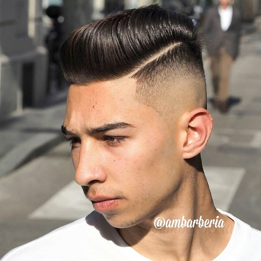 ambarberia_and big hair hairstyle high skin fade