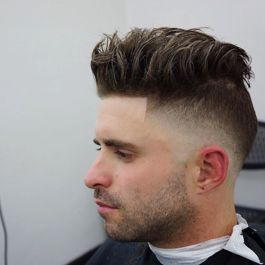 criztofferson_and skin fade and medium choppy hair