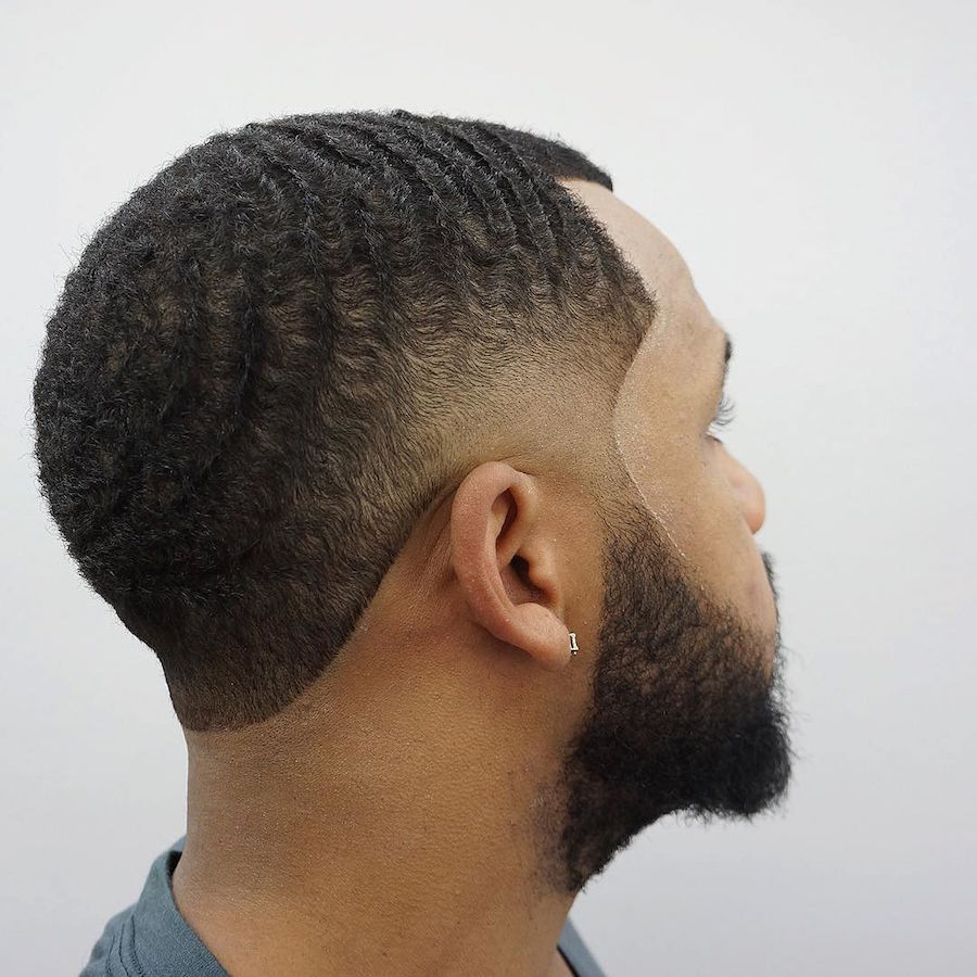 criztofferson_and taper fade and waves