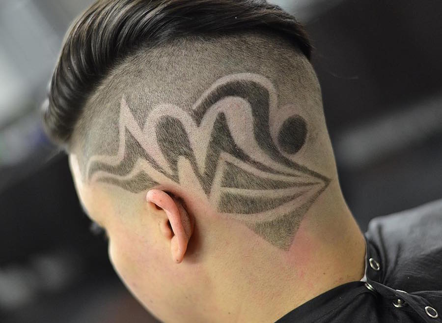 drewdabarber_and cool hair design
