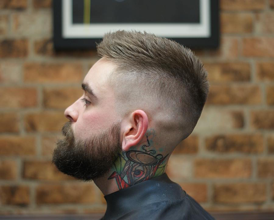 ryan_hardgrind_and high skin fade short mens haircut