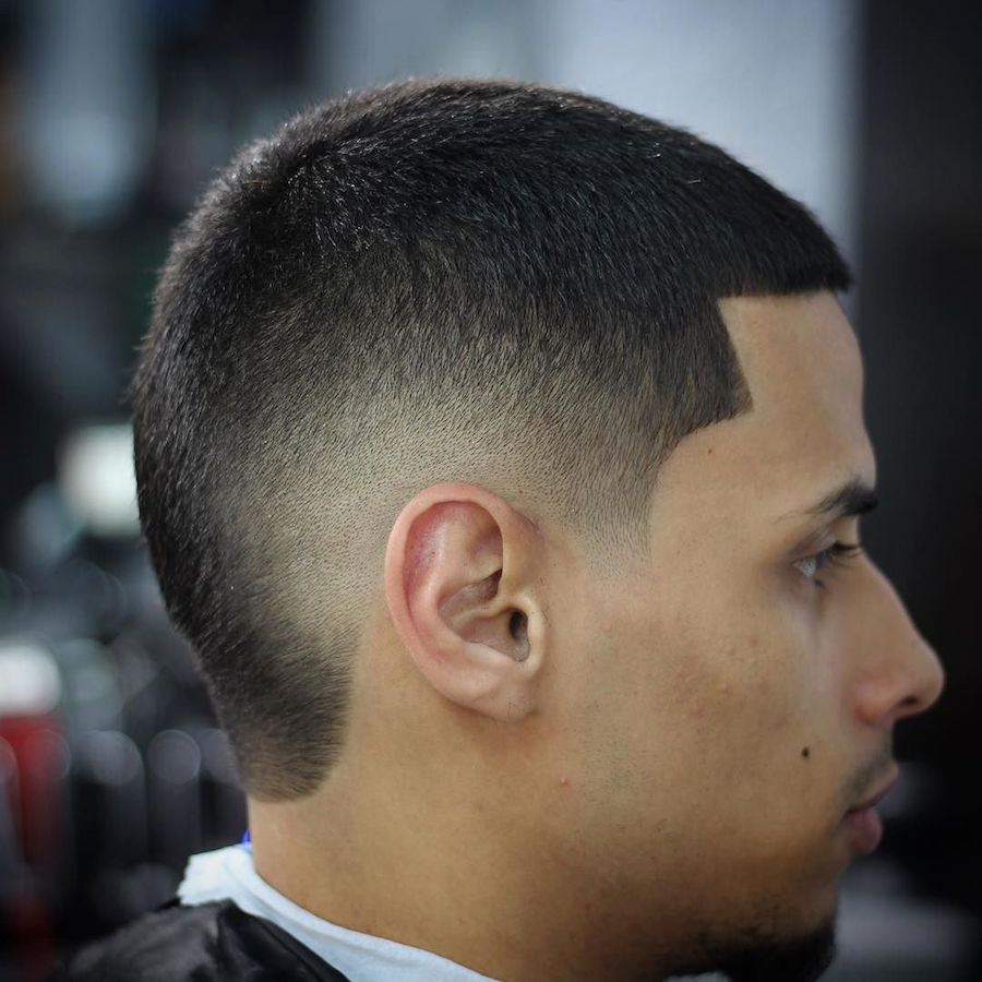 Curved Part Haircut